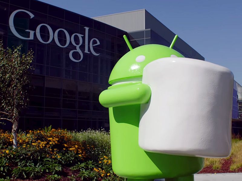 android marshmallow statue google youtube feed
