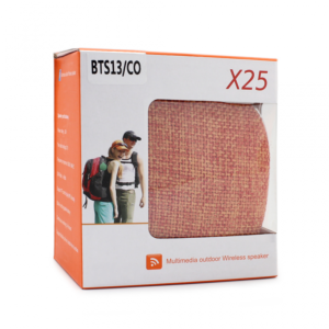 Bluetooth zvucnik BTS13/CO narandzasti