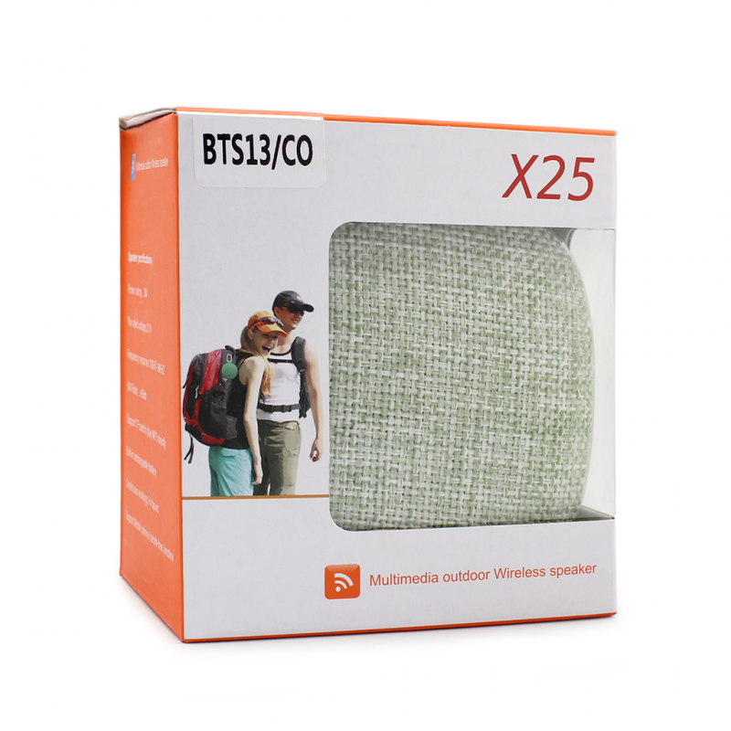 Bluetooth zvucnik BTS13/CO zeleni