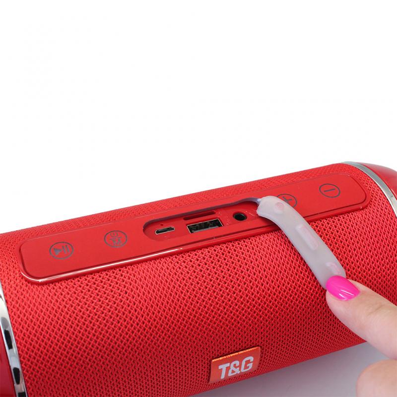 Bluetooth zvucnik TG116 crveni