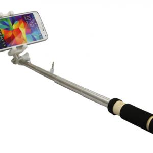 Selfie stick mini ZX-4S kabl 3.5mm crni