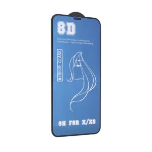 Zaštitno staklo Mirror 8D 9H iPhone X/XS plava