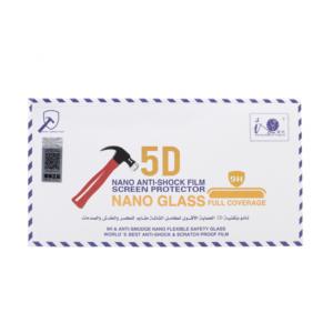 Zaštitno staklo Pancir 5D za iPhone 6 plus/6S plus crni