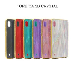 Maska 3D Crystal za Samsung A805F Galaxy A80 crna
