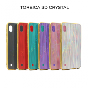 Maska 3D Crystal za Samsung A805F Galaxy A80 srebrna