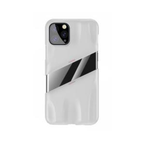 Maska Baseus Airflow za iPhone 11 Pro 5.8 belo-pink