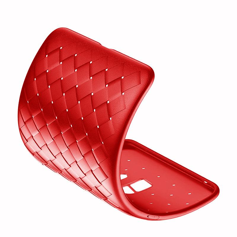 Maska Baseus BV Weaving za Samsung G960 S9 crvena