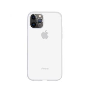 Maska Baseus Jelly Liquid za iPhone 11 Pro Max 6.5 transparent bela