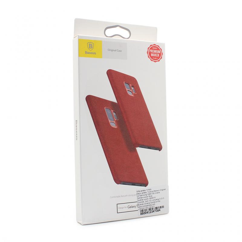 Maska Baseus Original za Samsung G960 S9 crvena