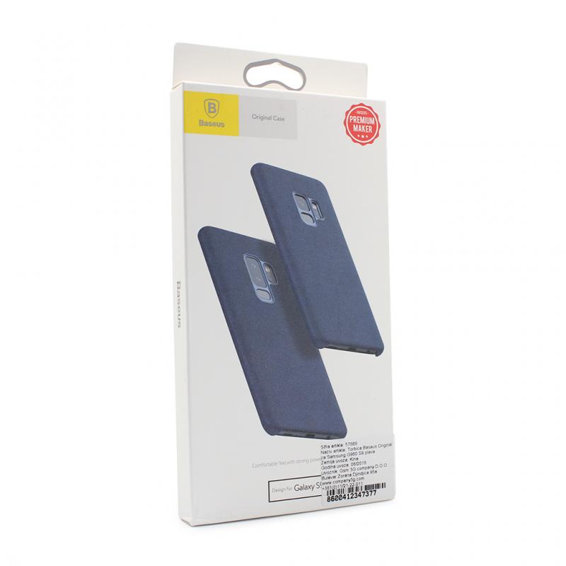 Maska Baseus Original za Samsung G960 S9 plava