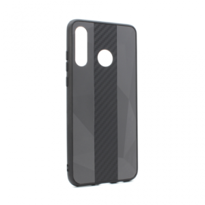 Maska Carbon Line za Huawei P30 Lite crna
