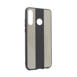 Maska Carbon Line za Huawei P30 Lite siva