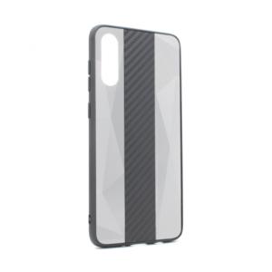 Maska Carbon Line za Samsung A705F Galaxy A70 siva