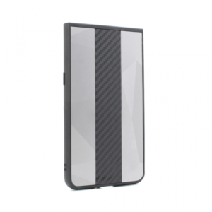 Maska Carbon Line za Samsung A805F Galaxy A80 siva