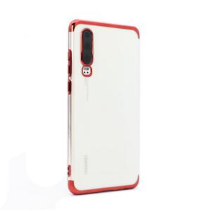 Maska Color edge za Huawei P30 crvena