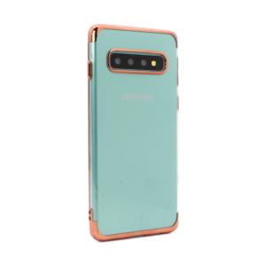 Maska Color edge za Samsung G973 S10 roze