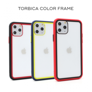 Maska Color Frame za iPhone 7/8 crna