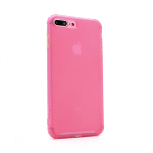 Maska Colorful button za iPhone 7 Plus/8 Plus pink