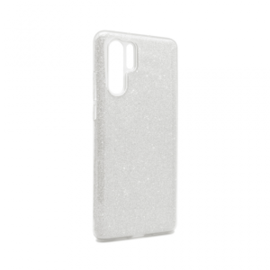 Maska Crystal Dust za Huawei P30 Pro srebrna