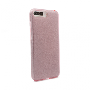 Maska Crystal Dust za Huawei Y6 2018 roze