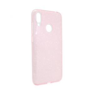 Maska Crystal Dust za Huawei Y7 2019/Y7 Prime 2019 roze