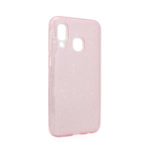 Maska Crystal Dust za Samsung A405F Galaxy A40 roze
