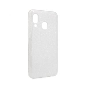 Maska Crystal Dust za Samsung A405F Galaxy A40 srebrna