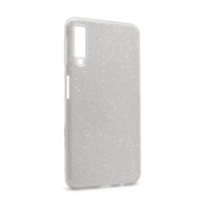 Maska Crystal Dust za Samsung A750FN Galaxy A7 2018 srebrna