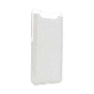 Maska Crystal Dust za Samsung A805F Galaxy A80 srebrna