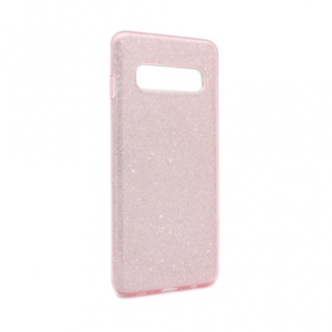 Maska Crystal Dust za Samsung G973 S10 roze