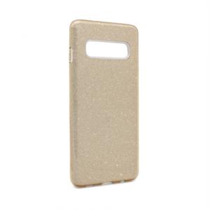 Maska Crystal Dust za Samsung G973 S10 zlatna