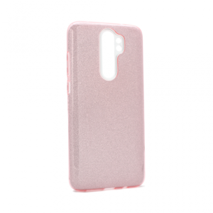 Maska Crystal Dust za Xiaomi Redmi Note 8 Pro roze