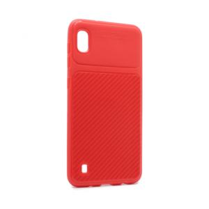 Maska Elegant Carbon za Samsung A105F Galaxy A10 crvena