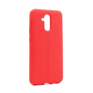 Maska Elegant men Exclusive za Huawei Mate 20 lite crvena