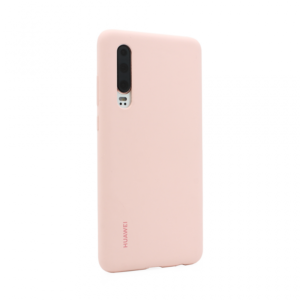 Maska Elle silikonska za Huawei P30 pink original