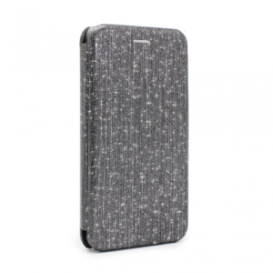 Maska Flip Crystal za Huawei Mate 20 Lite crna