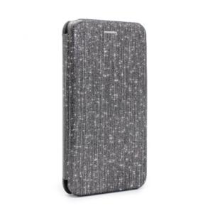 Maska Flip Crystal za Huawei P20 Lite crna