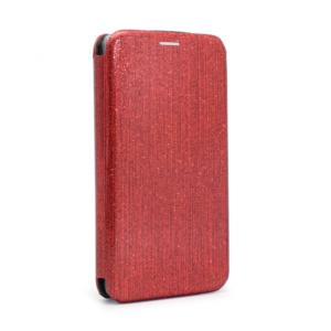 Maska Flip Crystal za Huawei P30 crvena