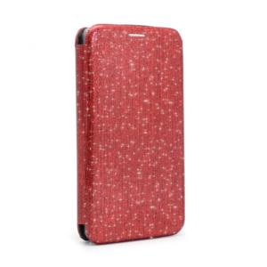 Maska Flip Crystal za Huawei Y6 2018 crvena