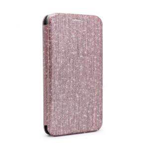 Maska Flip Crystal za Samsung A750FN Galaxy A7 2018 roze