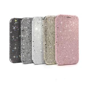 Maska Flip Diamond za Samsung A405F Galaxy A40 crna