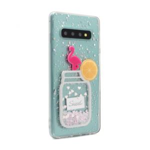 Maska Fluid Flamingo za Samsung G973 S10 type 5