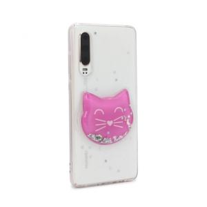 Maska Fluid Glitter za Huawei P30 type 36