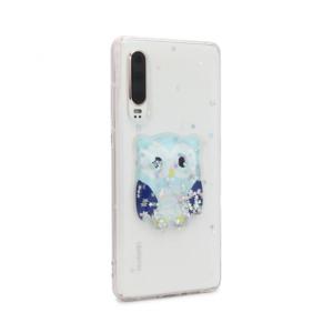 Maska Fluid Glitter za Huawei P30 type 43
