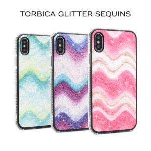 Maska Glitter Sequins za iPhone 7/8 pink