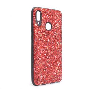Maska Glitter za Huawei Honor 10 lite/P smart 2019 crvena