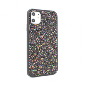 Maska Glitter za iPhone 11 6.1 crna