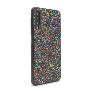 Maska Glitter za Samsung A750FN Galaxy A7 2018 crna
