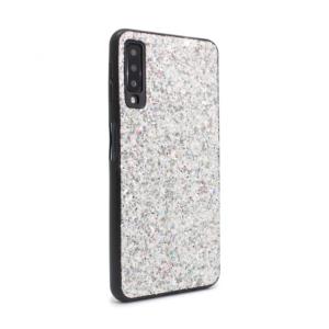 Maska Glitter za Samsung A750FN Galaxy A7 2018 srebrna