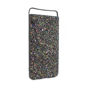 Maska Glitter za Samsung A805F Galaxy A80 crna